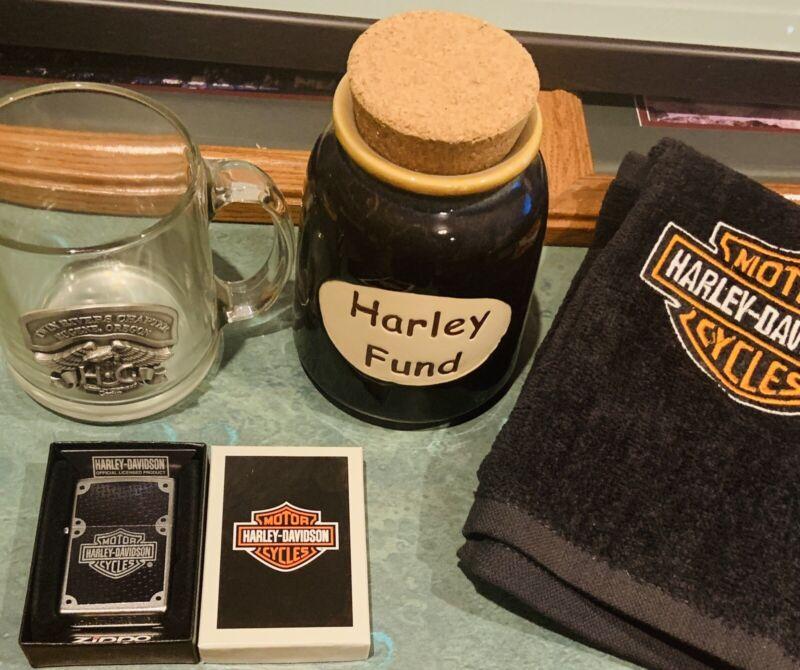 harley davidson collectibles lot