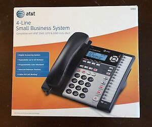 Brand New AT&T 1080 4-line business phone