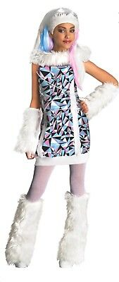 RUBIE'S MONSTER HIGH ABBEY BOMINABLE FANCY DRESS HALLOWEEN - LARGE 8-10 YEARS