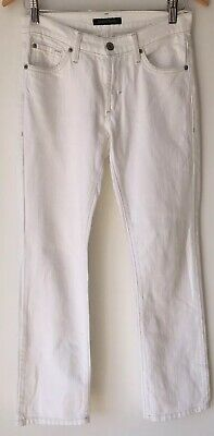 Ladies White Jeans 10 James Jeans Skinny  # <NZ3313