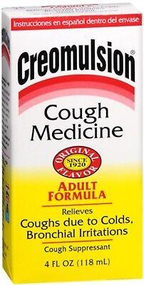 Creomulsion Cough Medicine Adult Formula 4 (Formula Cough Syrup)
