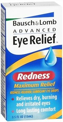 Bausch - Lomb Advanced Eye Relief Redness Maximum Relief Eye Drops 0.50oz (2 pk) Eye Drops Advanced Relief