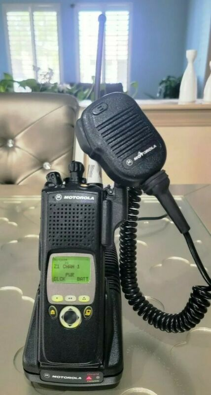 MOTOROLA XTS5000 Model II 700/800 Mhz P25. H18UCH9PW7AN. Police.Fire.EMS.Family.