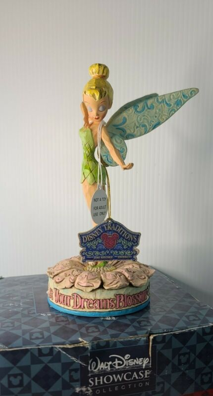 Walt DISNEY Traditions TINKERBELL Let Your Dreams Blossom Jim Shore In Box