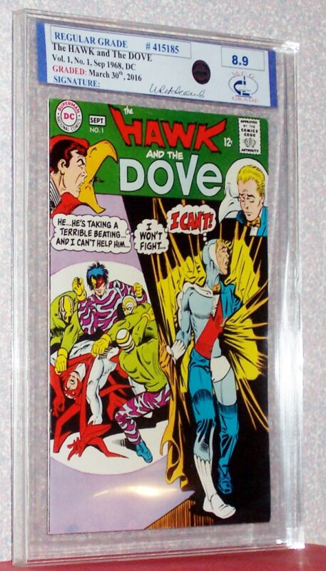 The HAWK and the DOVE Vol. 1 #1, 1968, DC, RSG Graded 8.9 Midwest Comic Grading