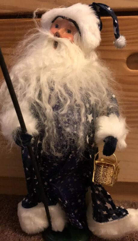 Byers Choice Polish Star Man Santa 2012