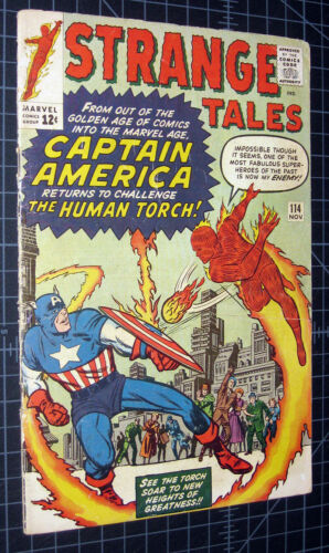 Strange Tales #114 early Captain America crossover, Silver key