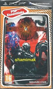 Lord Of Arcana Brand New PSP Essentials Game