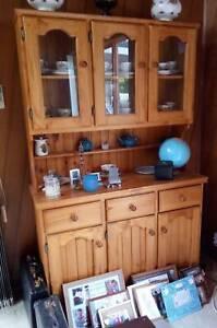 Pine Dresser, Buffet and Hutch, Display Unit