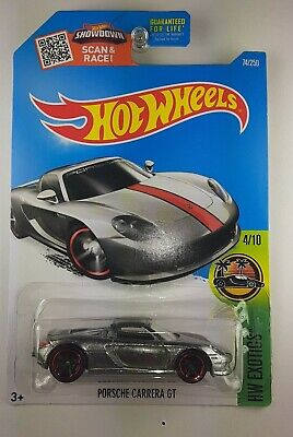 HOT WHEELS  Porsche CARRERA GT ZAMAC