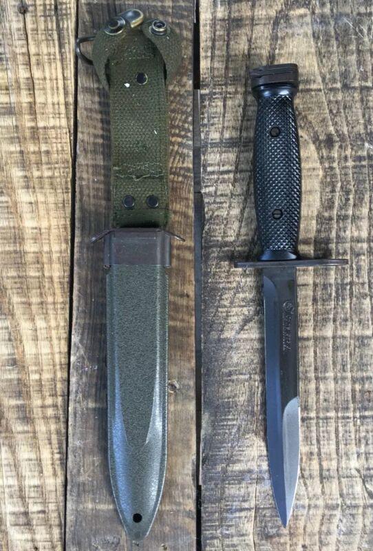ORIGINAL AUTHENTIC US GI COLT M7 BAYONET MILITARY FIGHTING KNIFE VIETNAM