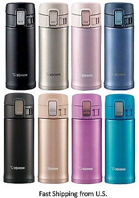 ZOJIRUSHI Travel Vacuum Insulation Mug Bottle 12oz SM-KHE36