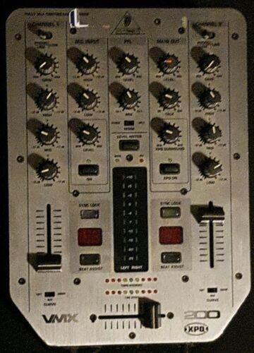 Behringer Pro Mixer VMX200 Full VGA Controlled 2 Kanal DJ Mischpult Equipment