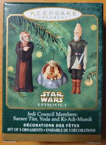 2005 STAR WARS HALLMARK KEEPSAKE ~ JEDI COUNCIL MEMBERS ~ Minis ~ UNOPENED Yoda