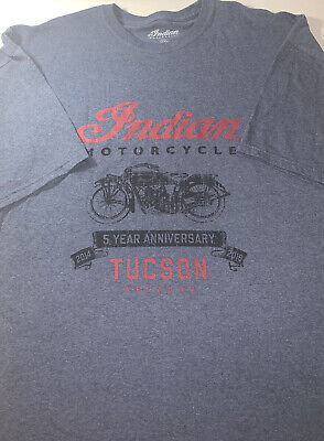 Indian Motorcycle Mens Vintage T-Shirt Size 3XL