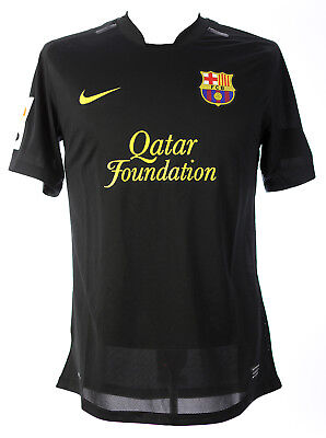LIONEL MESSI MATCH WORN AWAY SHIRT 2011-2012 BARCELONA MEARS COA'S UNWASHED FIFA