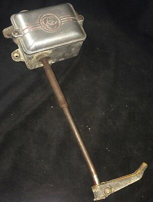 Vintage Clark Controller Hla-2 And Foot Pedal Attachment For Drill Press