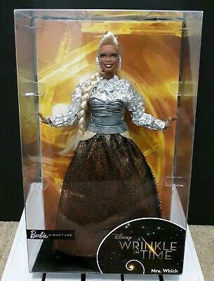 BARBIE SIGNATURE A WRINKLE IN TIME MRS WHICH W/ CERTIFICATE OF AUTHENTICITY