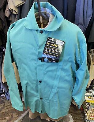 Tillman 6230 Welding Jacket Flame Retardant Lightweight Cotton Size Medium
