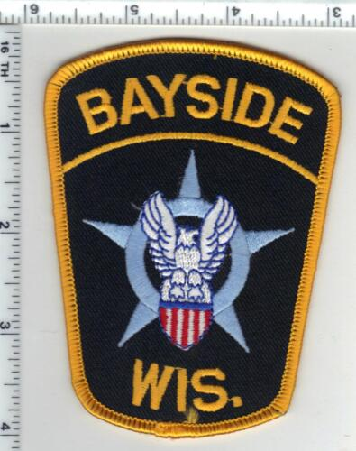 Bayside Police (Wisconsin) 5th Issue Shoulder Patch