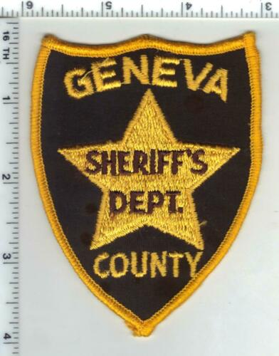 Geneva County Sheriff (Alabama) 1st Issue Shoulder Patch