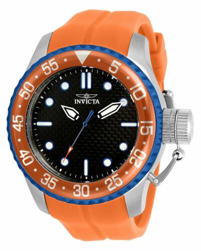 Invicta Mens 32965 Pro Diver Quartz 3 Hand Black Dial Watch
