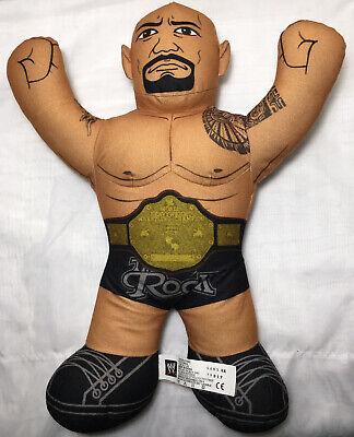 The Rock 2012 Mattel Talking WWE Wrestling Brawlin Buddies Plush Toy