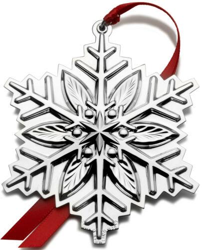 Gorham Annual Sterling Silver Snowflake Ornament 2012 NIB