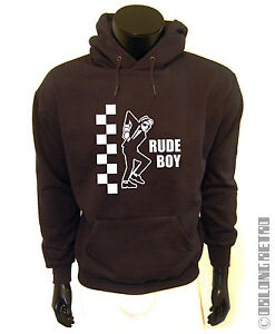 Retro-SKA-rude-boy-HOODIE-the-specials-reggae-two-tone-punk-jamaica-selecter