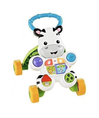 Fisher Learn With Me Zebra Walker with Lights & Music