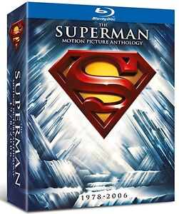 The Superman Motion Picture Anthology 1978-2006 8-disc set Blu-Ray BRAND NEW