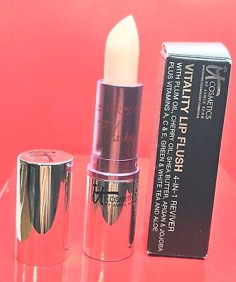 IT COSMETICS VITALITY LIP FLUSH 4-IN-1 JE NE SAIS QUOI NIB MadeInUSA