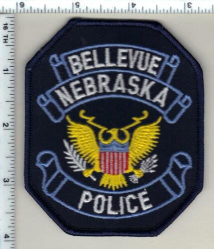 Bellevue Police (Nebraska)  Shoulder Patch  - new from 1990