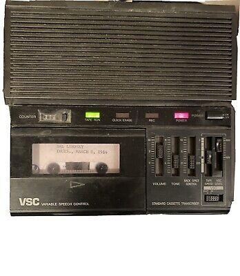 Panasonic Rr-830 Vsc Standard Cassette Transcriber Audio Tape Recorder