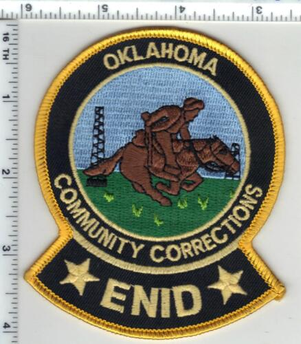 Enid Community Corrections (Oklahoma) 1st Issue Shoulder Patch