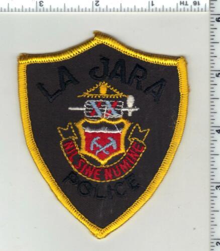 La Jara Police (Colorado) 1st Issue Uniform Take-Off Shoulder Patch