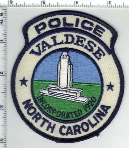 Valdese Police (North Carolina) 2nd Issue Uniform Take-Off Patch