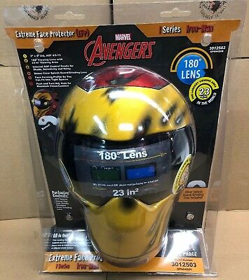 Save Phace Marvel Iron Man Welding Helmet Extreme Face