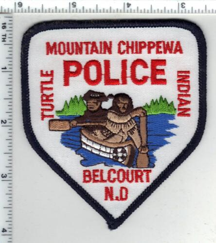 Mountain Chippewa Turtle Indian Police (Belcourt, North Dakota) Shoulder Patch
