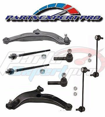 2008-2011 MITSUBISHI LANCER CONTROL ARMS TIE RODS & LINK KIT 07-12 OUTLANDER