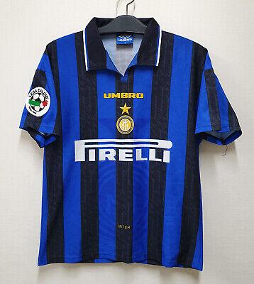 1996-97 Inter Milan Home S/S No.4 ZANETTI Serie A 96-97 Jersey shirt trikot image