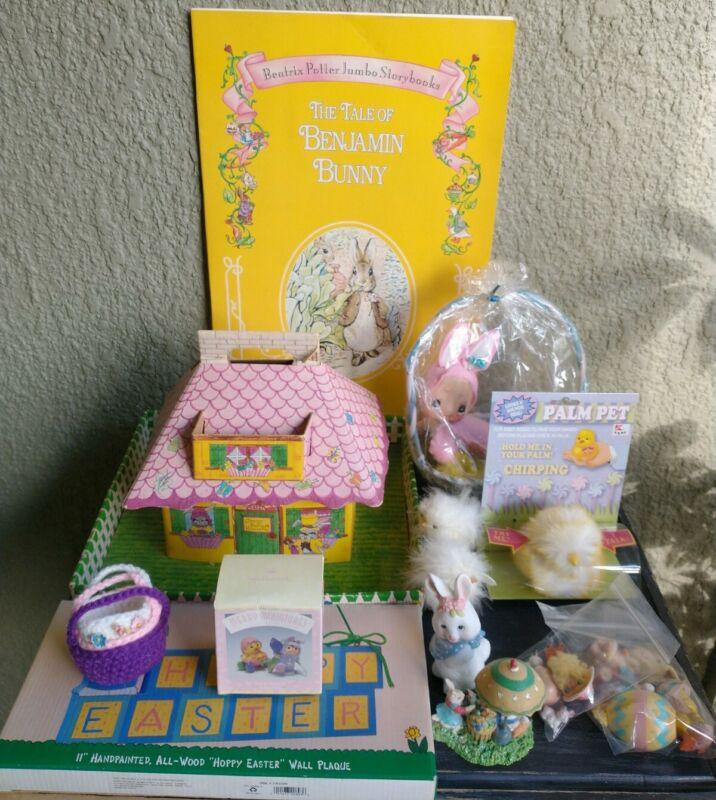 Lot of Vintage Easter Decorations