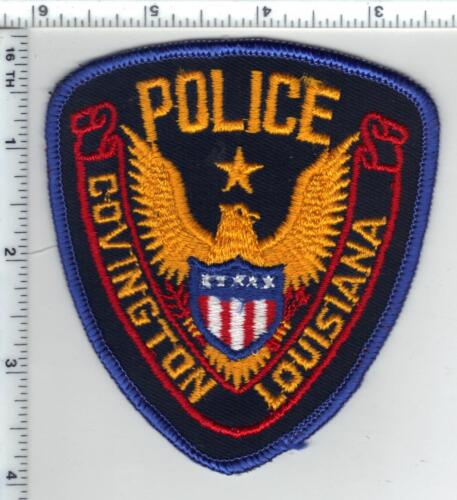 Covington Police (Louisiana)  Shoulder Patch - new from the 1980