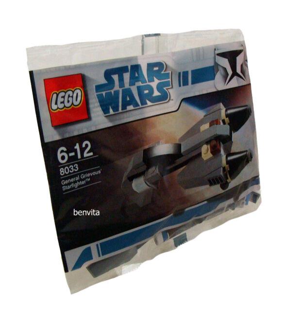 Lego® Star Wars 8033 - General Grievous Starfighter 44 Teile 6-12 Jahren - Neu