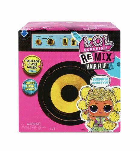 LOL Surprise Remix Hair Flip Dolls - 15 Surprises with Hair Reveal & Music NEW