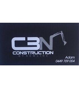 CBN Construction / MINI EXCAVATION Condell Park Bankstown Area Preview