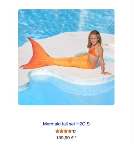 MERMAID TAIL - HIGH QUALITY , made in Germany