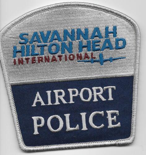 Savannah Hilton Head intl Airpt Police State Georgia GA SC NEW