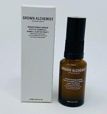 Grown Alchemist Brightening Serum Phyto-Complex Rumex Leaf Extract 25ml NIBRV$79