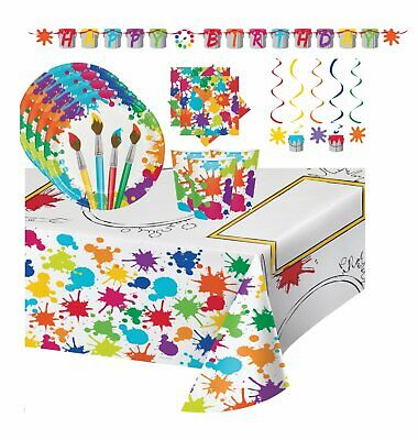 Art Party Supplies (Artist Birthday Art Party Supplies for)
